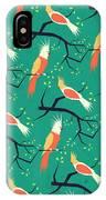 Jolly Bird Pattern IPhone Case