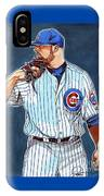 Jon Lester Chicago Cubs IPhone Case