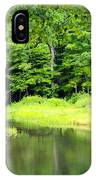 Jones Mill Run Creek IPhone Case