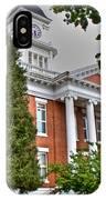 Jonesborough Courthouse Tennessee IPhone Case