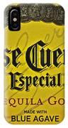 Jose Cuervo IPhone Case