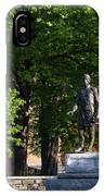 Joshua Lawrence Chamberlain Statue, Brunswick, Maine #0013 IPhone X Case