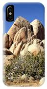 Joshua Tree Center IPhone Case