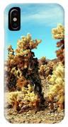 Joshua Tree Cholla IPhone Case