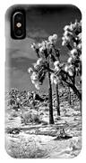Joshua Trees In Snow IPhone Case
