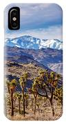 Joshua Tree National Park 2 IPhone Case