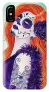 Joslyn Day Of The Dead Art IPhone Case