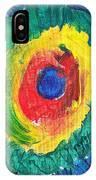 Joss's Eye IPhone Case