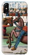 Jousting Knights, 1499 IPhone Case
