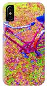 Joy, The Bike Ride IPhone Case