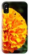 Joyful Orange Floral Lace IPhone Case