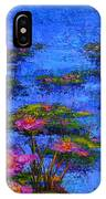 Joyful State - Modern Impressionistic Art - Palette Knife Landscape Painting IPhone Case
