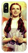 Judy Garland, Dorothy IPhone Case