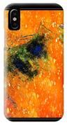 Jug In Black And Orange IPhone Case