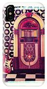 Juke Box Polaroid Transfer IPhone Case