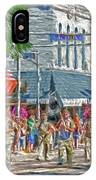 July 4th Color Guard IPhone Case