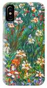 Jumbled Up Wildflowers IPhone Case