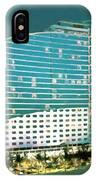 Jumeirah Beach Hotel IPhone Case