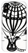 June In A Balloon IPhone Case