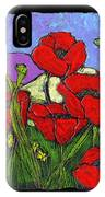 June Poppies IPhone Case