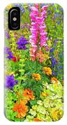 Juneau Has Flowers IPhone Case