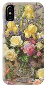 June's Floral Glory IPhone Case