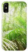 Jungle Abstract 1 IPhone Case