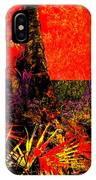 Jungle At The Corner Of Concha And Laconia IPhone Case