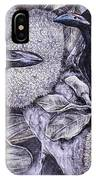 Jungle Crows On Jackfruit IPhone Case