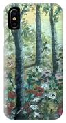 Jungle  Reflection IPhone Case