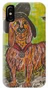 Junk Yard Dog IPhone Case