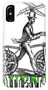 Junquentoys Bike-o-vator IPhone Case