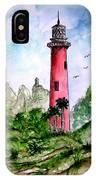 Jupiter Florida Lighthouse IPhone Case