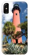 Jupiter Lighthouse II IPhone Case