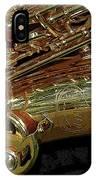 Jupiter Saxophone IPhone Case