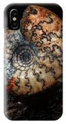 Jurassic Ammonite IPhone Case