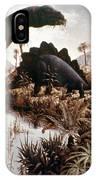 Jurassic Swamp IPhone Case