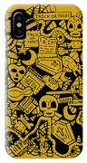 Just Halloweeny Things V5 IPhone X Case