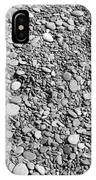Just Rocks - Black And White IPhone Case