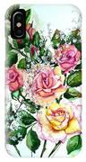 Just Roses IPhone Case