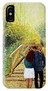 Just Walking IPhone Case