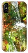 Waterfall Of Love IPhone Case