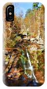 Flows Down The Cliff IPhone Case