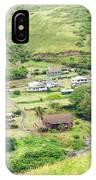 Kahakuloa Village Maui Hawaii IPhone Case