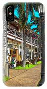 Kailua Village - Kona Hawaii IPhone Case