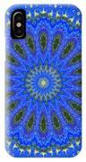 Kaleidoscope Iris Three IPhone Case