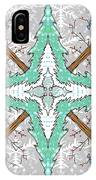 Kaleidoscope Of Winter Trees IPhone Case