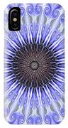 Kaliedoscope Purples IPhone Case