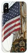 Kalmar Nyckel American Flag IPhone Case