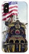 Kalmar Nyckel Tall Ship IPhone Case
